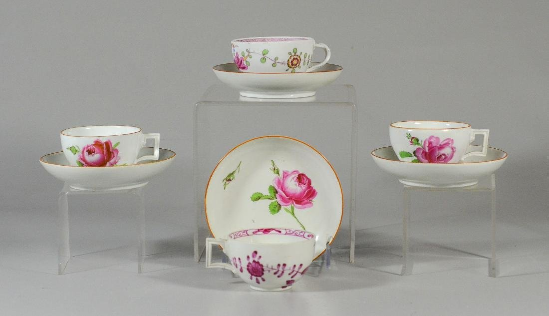 (8) Pieces Marcolini Meissen Porcelain