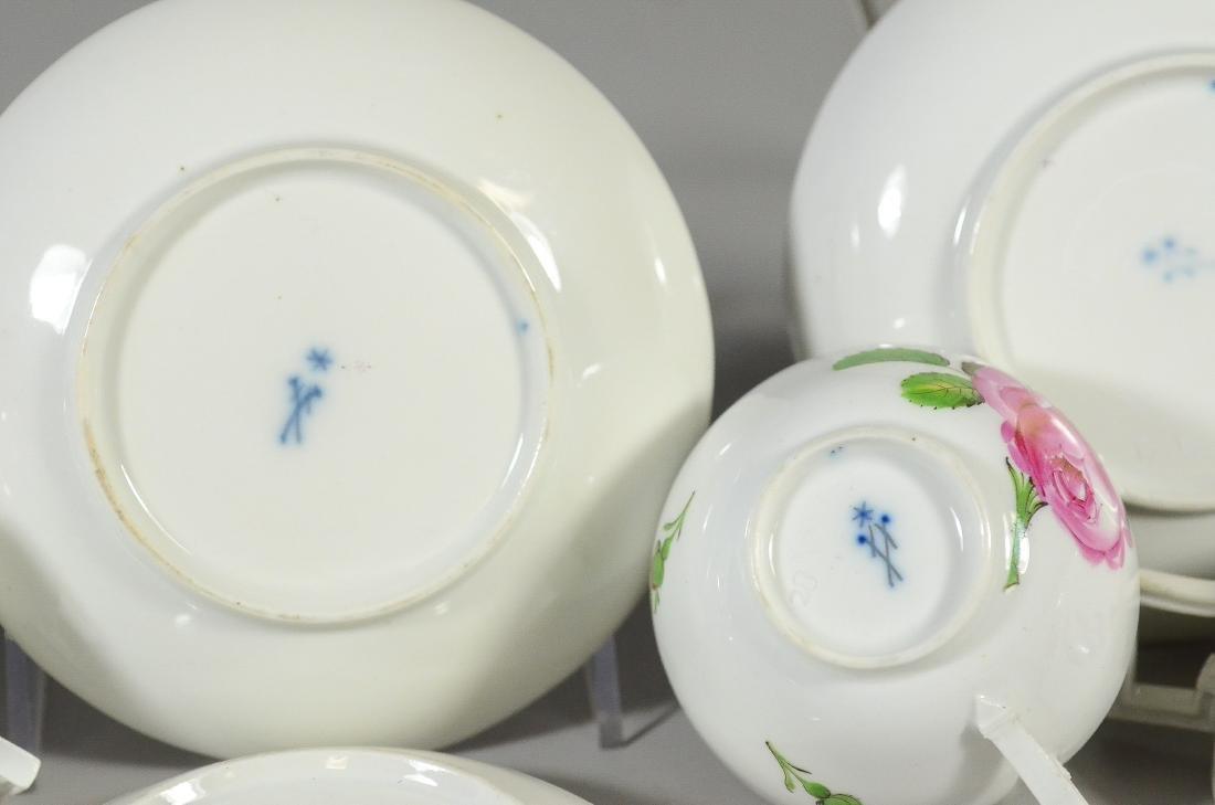 (8) Pieces Marcolini Meissen Porcelain - 5
