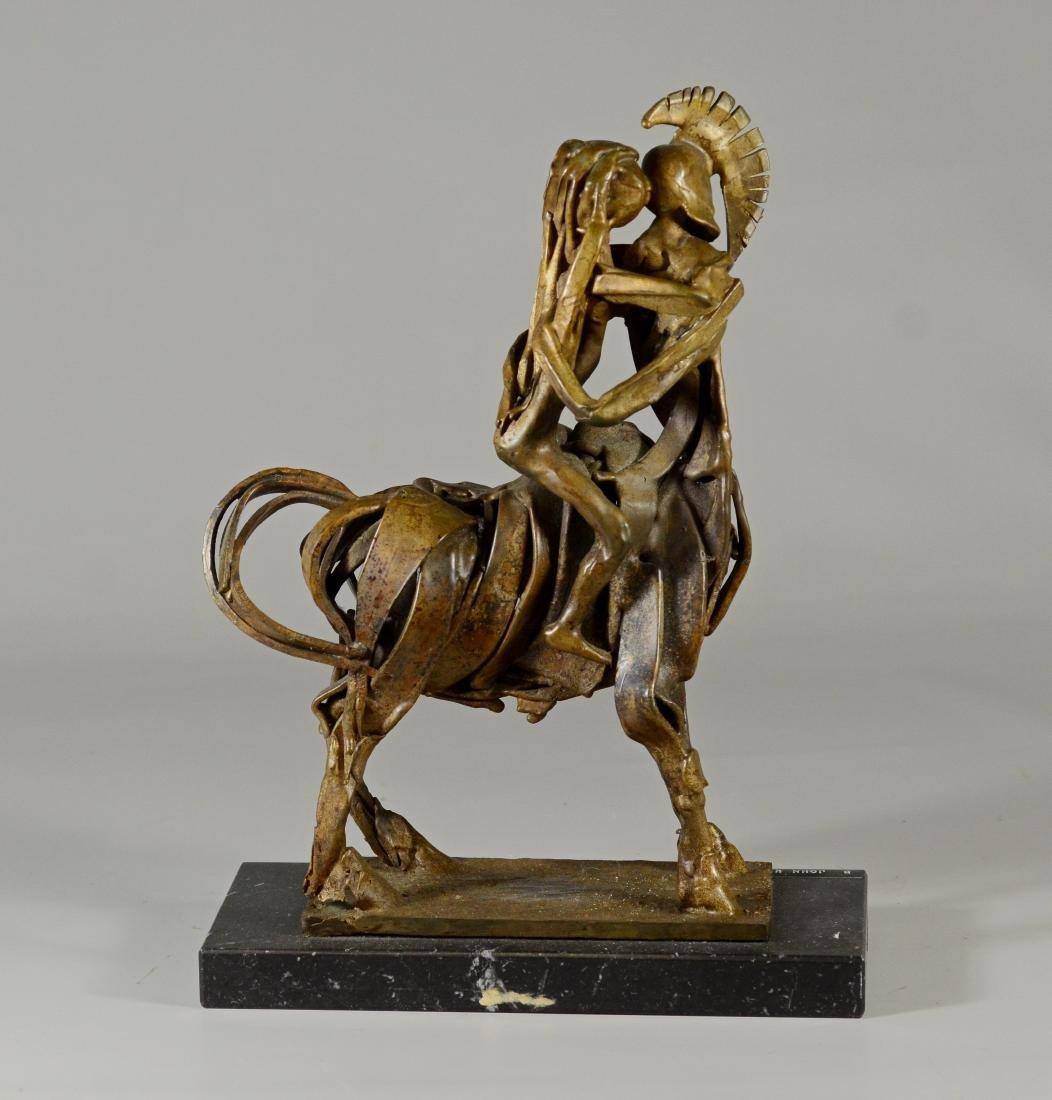 "John Kearney, brutalist bronze sculpture ""Centaur"" - 7"