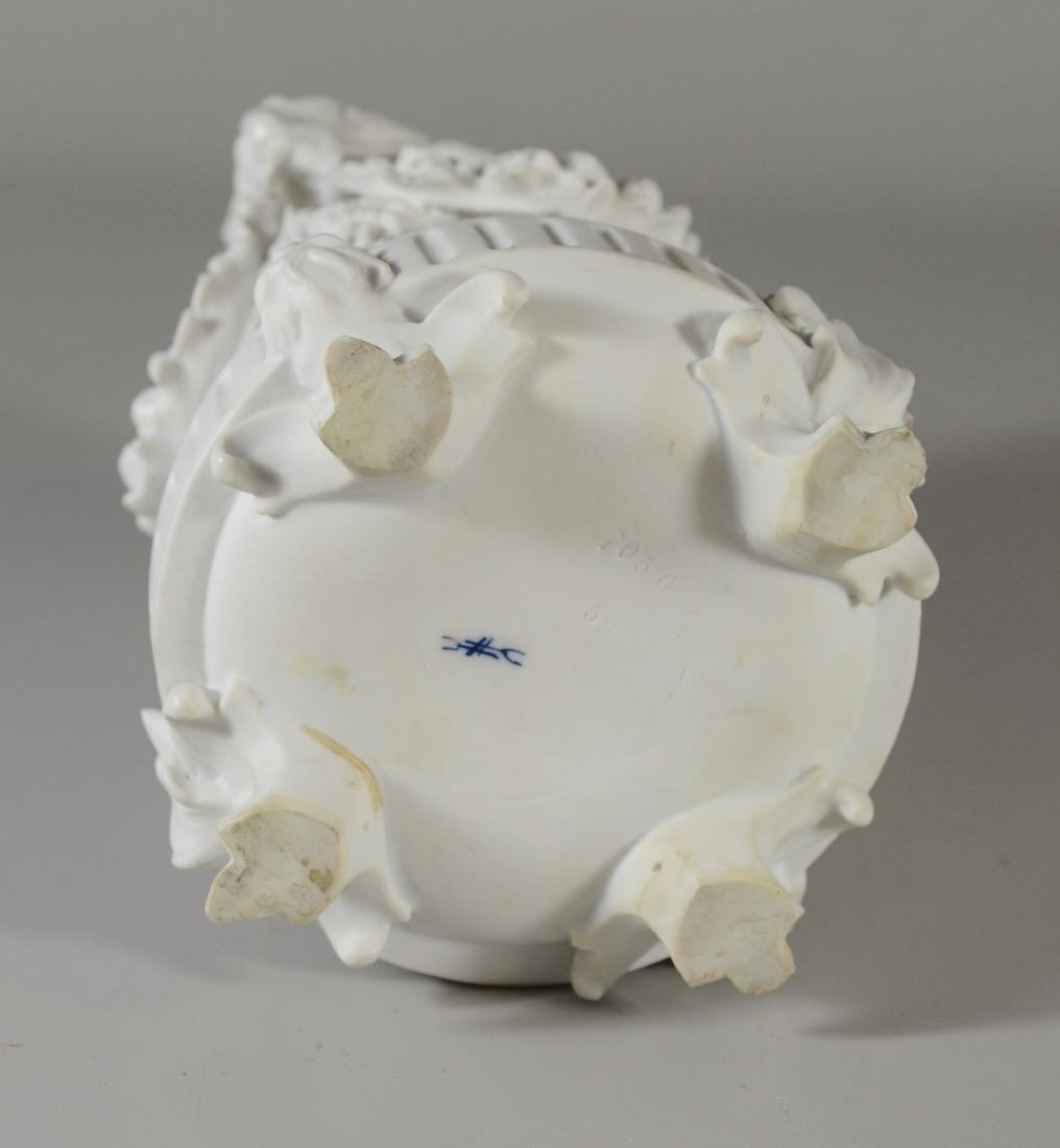 13 pc Volkstedt Porcelain Parian Classical Centerpiece - 14
