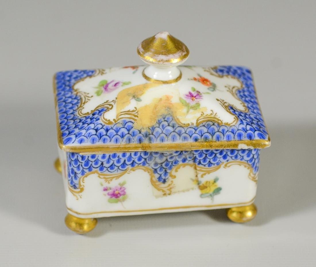6 Dresser Boxes including Meissen, Dresden, Limoges - 11