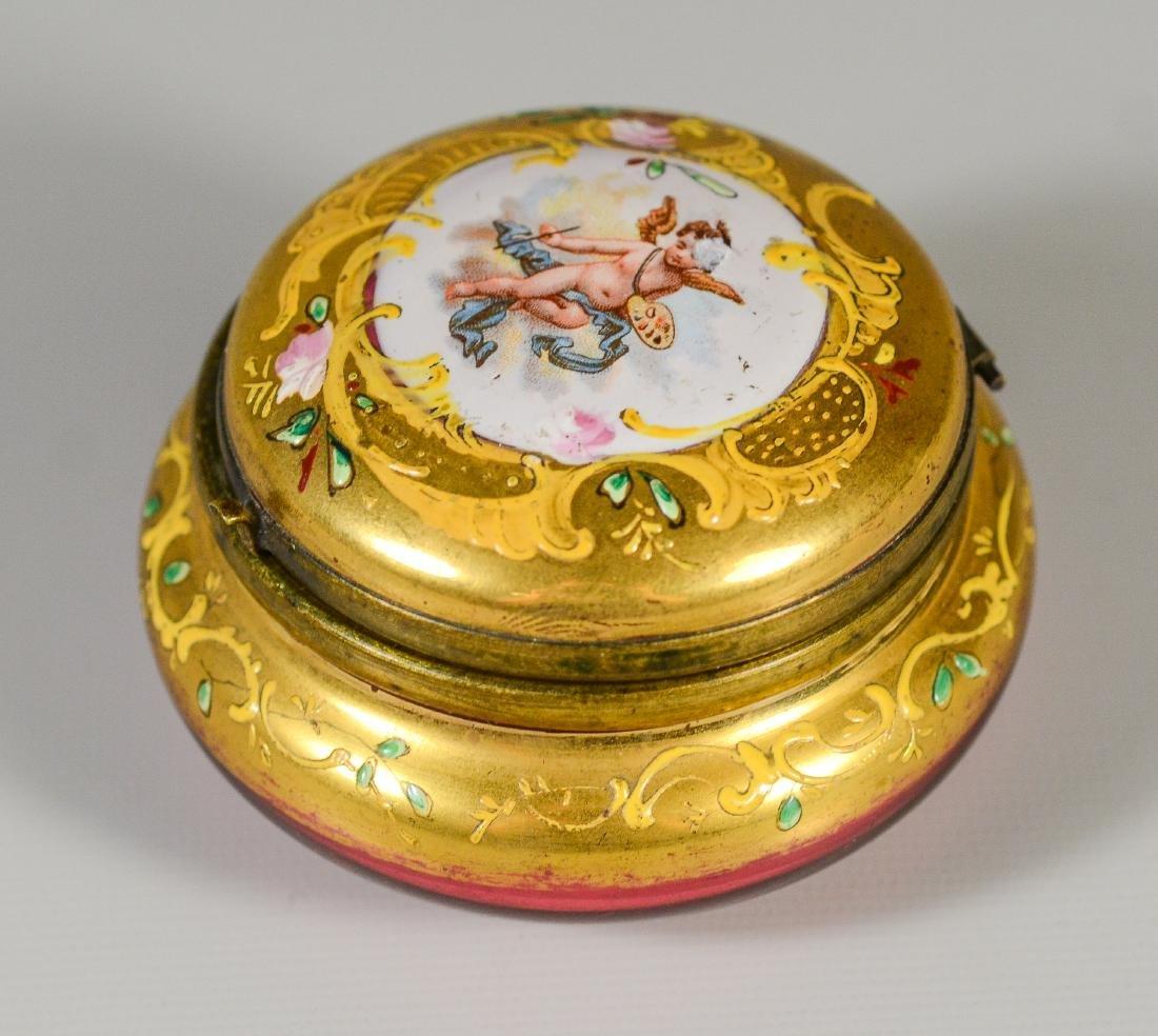 6 Dresser Boxes including Meissen, Dresden, Limoges - 9