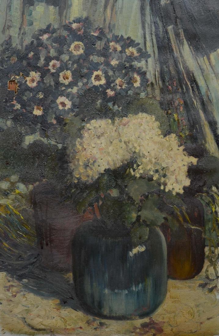 Everett Lloyd Bryant Still Life Flowers in Vase