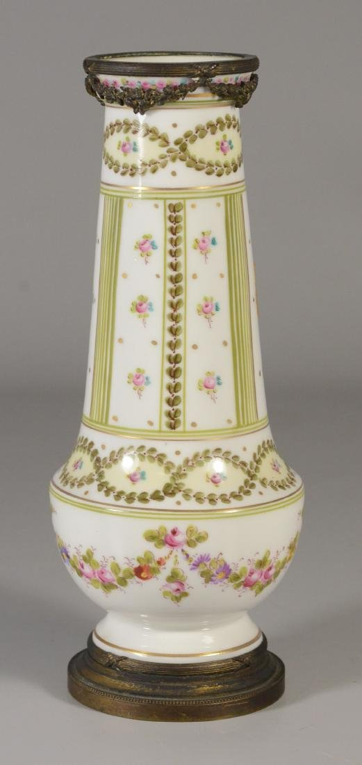 Sevres-type ormolu mounted vase, late 19th C - 2