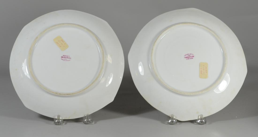 (8) Tresseman & Vogt, Limoges porcelain fish plates - 5