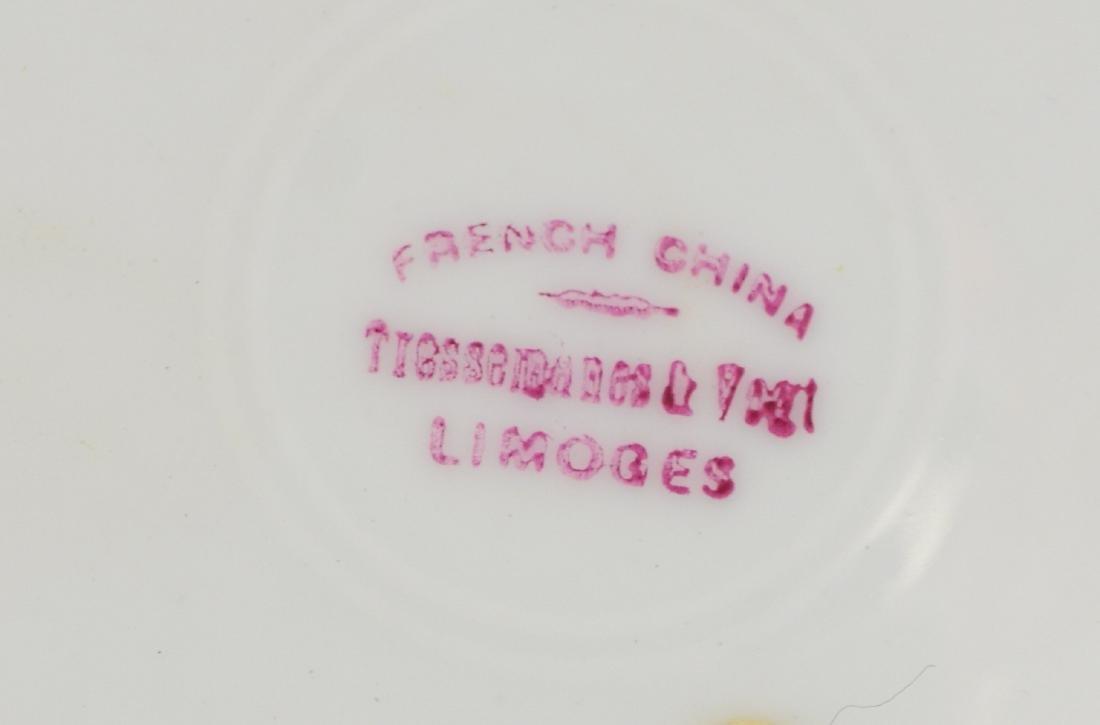 (8) Tresseman & Vogt, Limoges porcelain fish plates - 6