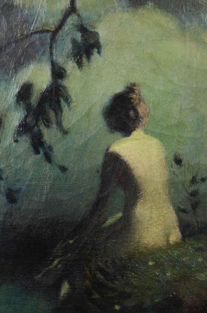 Irving Ward, painting of a female nude - 3