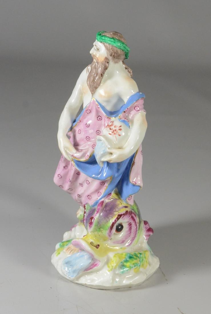 "Chelsea-type porcelain mythological figure of ""Neptune"" - 2"