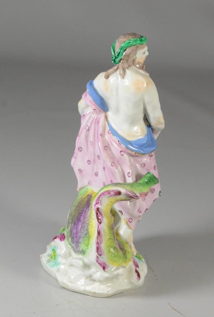 "Chelsea-type porcelain mythological figure of ""Neptune"" - 4"