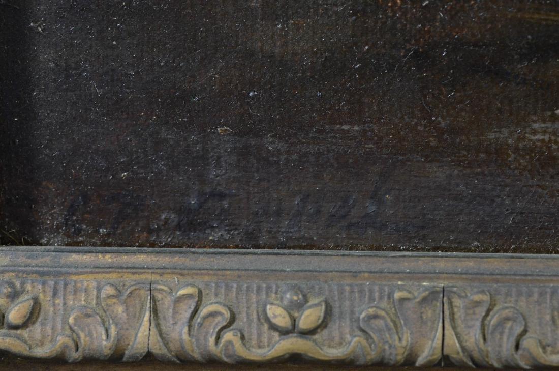 Charles Appel,  tonalist landscape oil on canvas - 3
