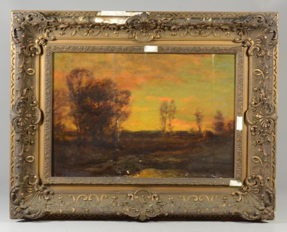 Charles Appel,  tonalist landscape oil on canvas - 4