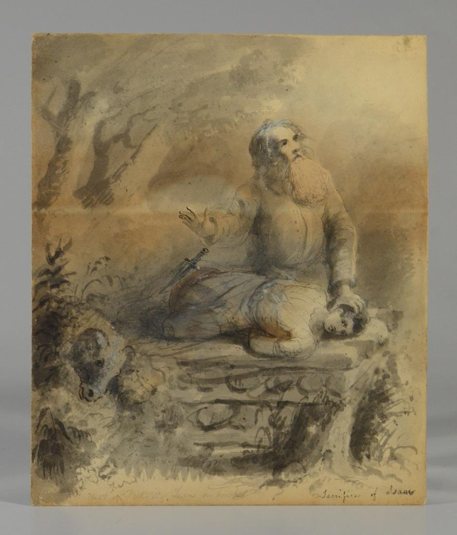 Fielding Lucas, watercolor portrait of gentleman - 4