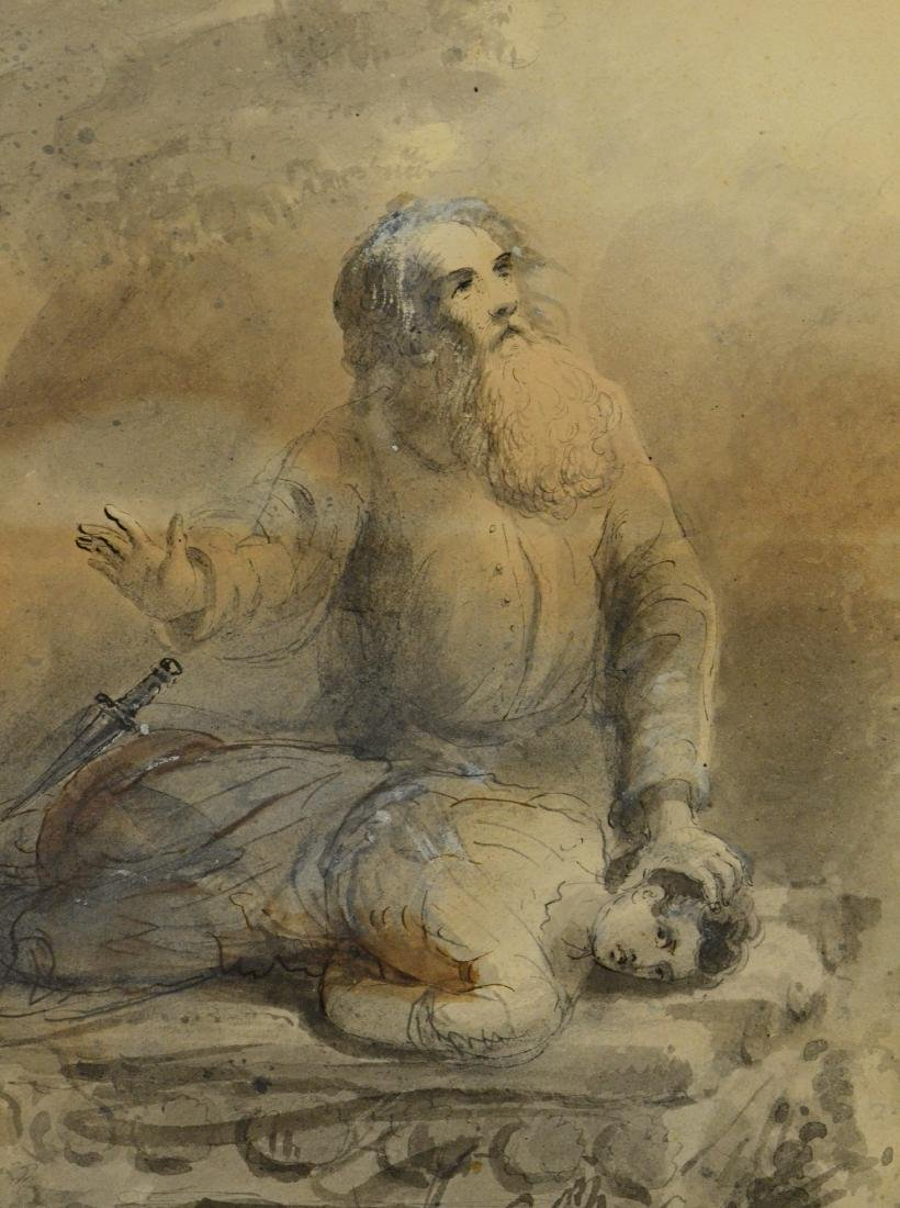 Fielding Lucas, watercolor portrait of gentleman - 5