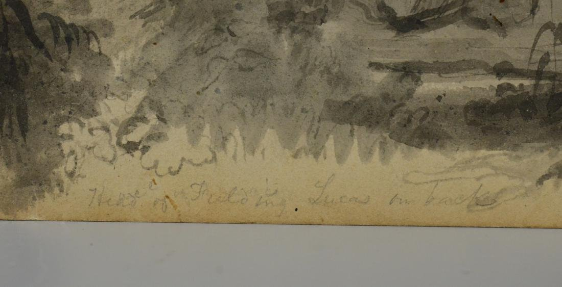 Fielding Lucas, watercolor portrait of gentleman - 7