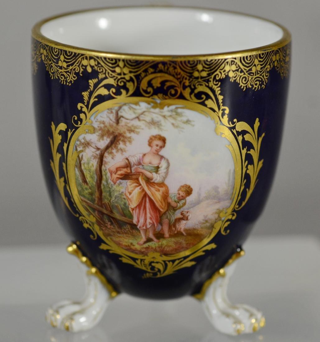 6 Miscellaneous Meissen porcelain items - 3