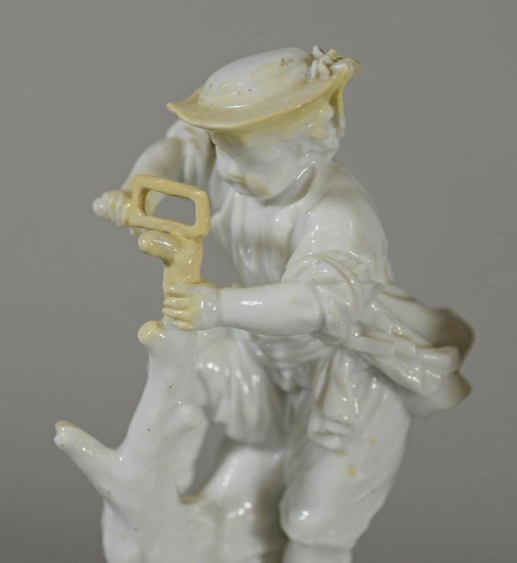 6 Miscellaneous Meissen porcelain items - 4