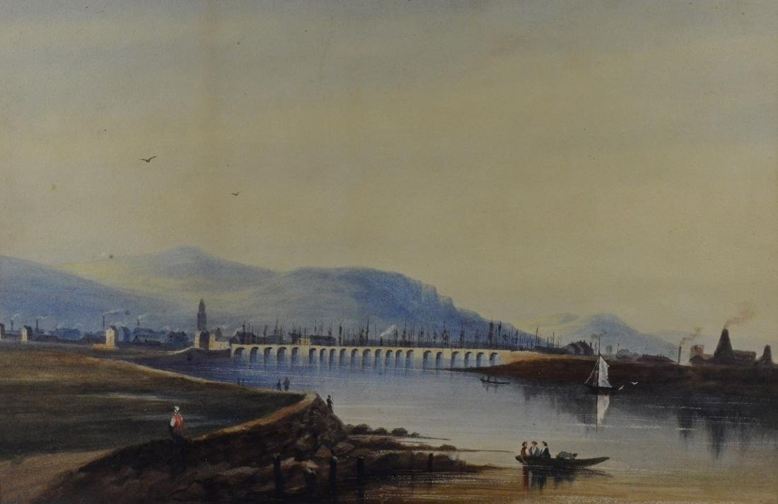 Pair of European Landscapes, Nicols of Dublin 1825 - 3
