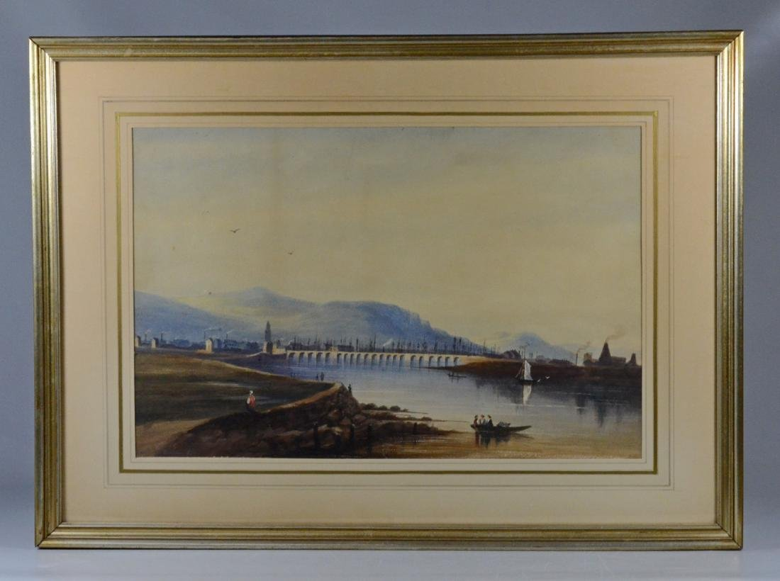 Pair of European Landscapes, Nicols of Dublin 1825 - 4