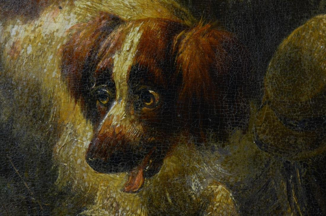 Henriette Ronner Knip, two paintings of dogs - 10