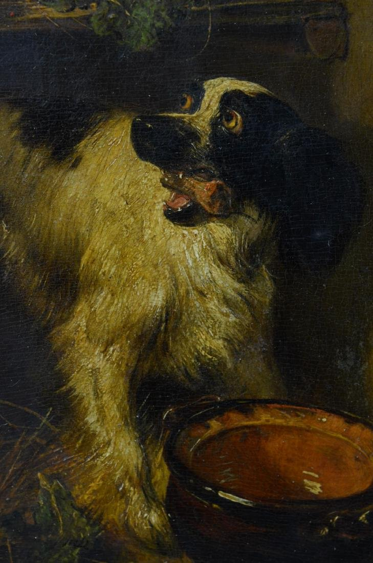 Henriette Ronner Knip, two paintings of dogs - 15