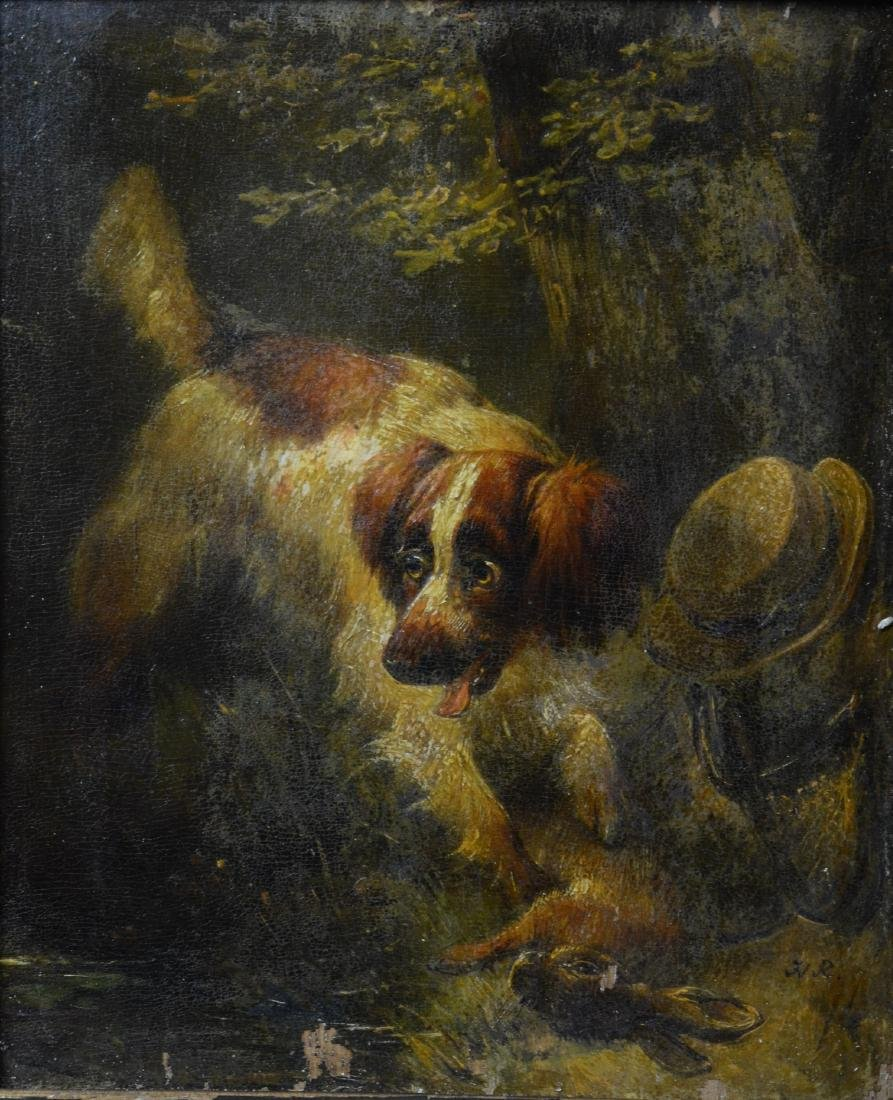 Henriette Ronner Knip, two paintings of dogs - 3