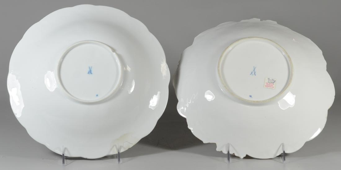 (2) Meissen porcelain round gilt decorated bowls - 2