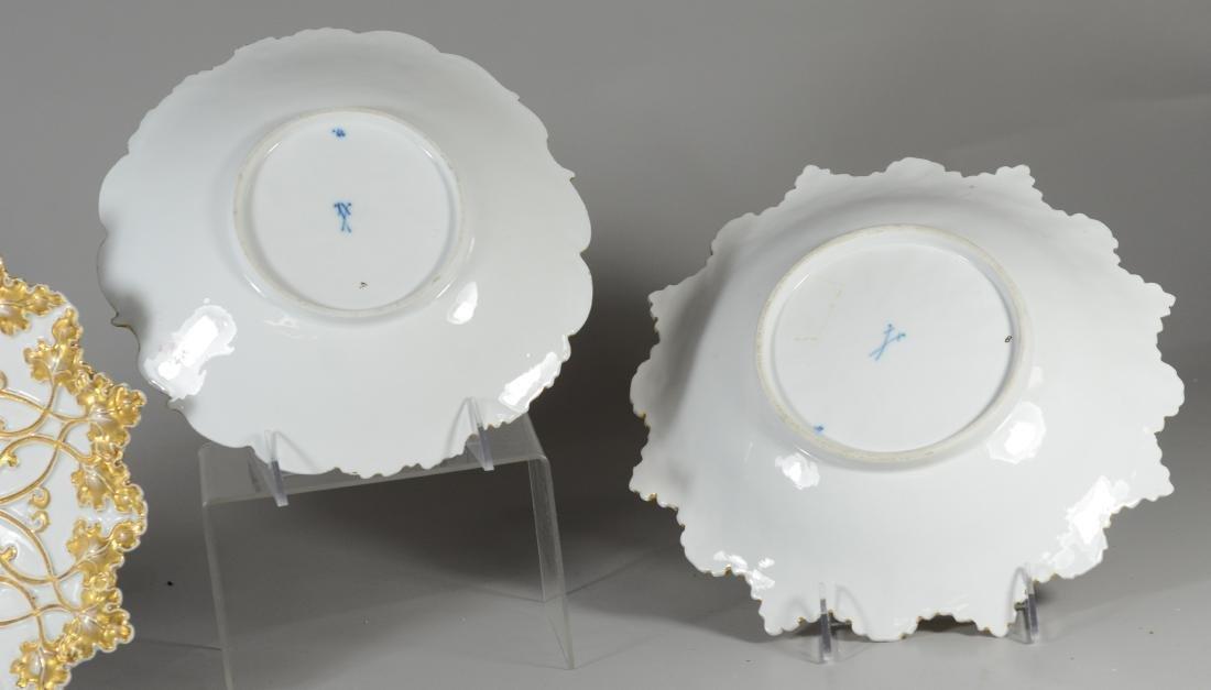 (3) Meissen porcelain round gilt decorated bowls - 3