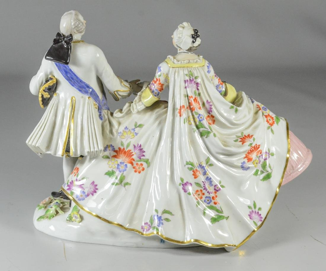 Meissen porcelain Augustus the Strong and Marie Josepha - 2