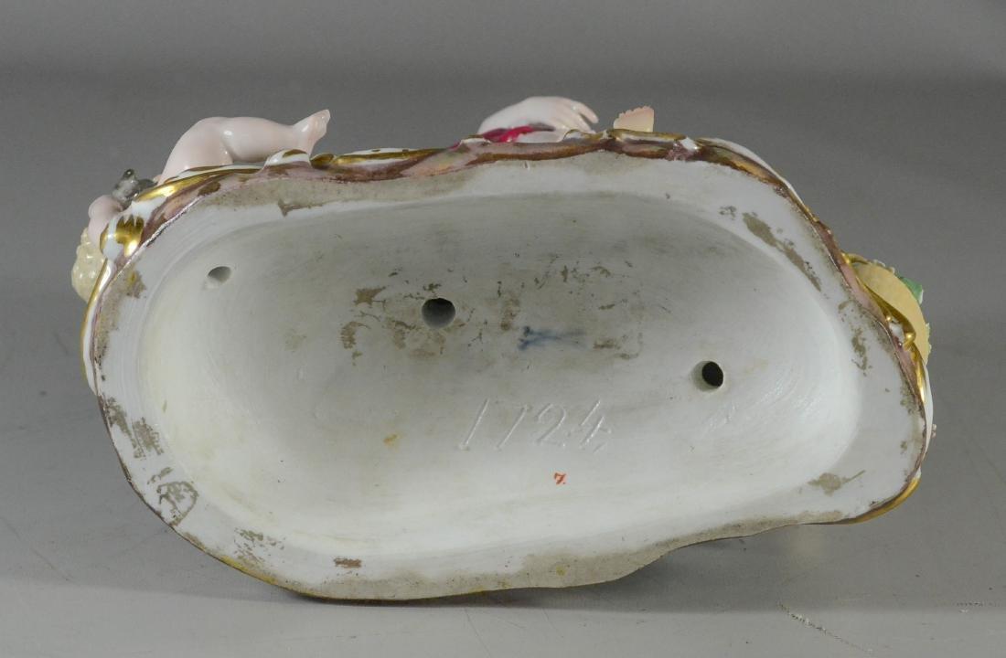 Meissen porcelain Bacchanalian group Drunken Silenus - 3