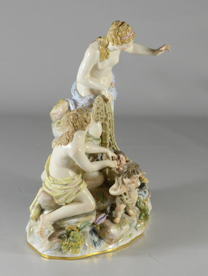 "Meissen porcelain group of the ""Capture of the Tritons"" - 2"