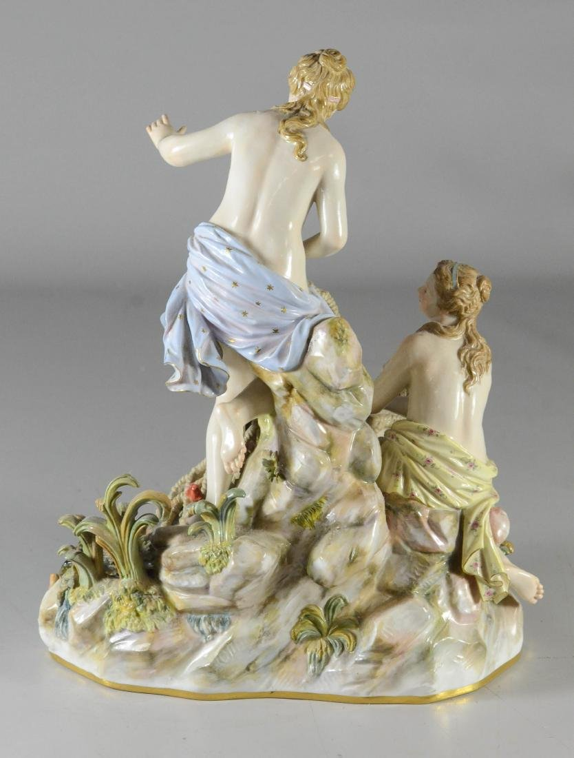 "Meissen porcelain group of the ""Capture of the Tritons"" - 3"