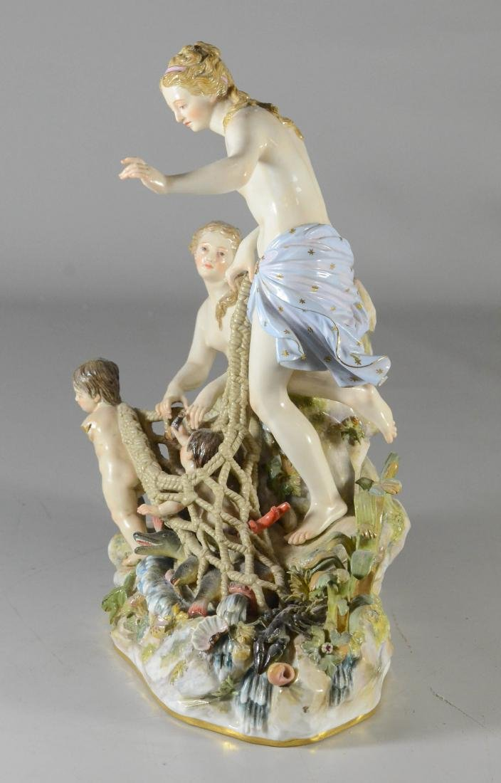 "Meissen porcelain group of the ""Capture of the Tritons"" - 4"