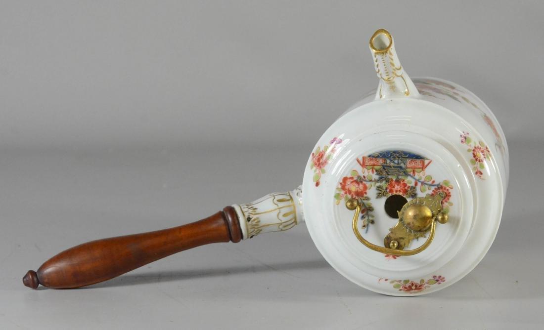 """Meissen porcelain """"Kakiemon"""" side-handle coffee pot - 3"""
