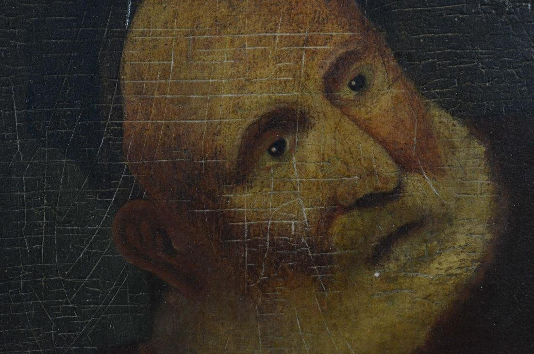 Early portrait painting of a bearded man - 3