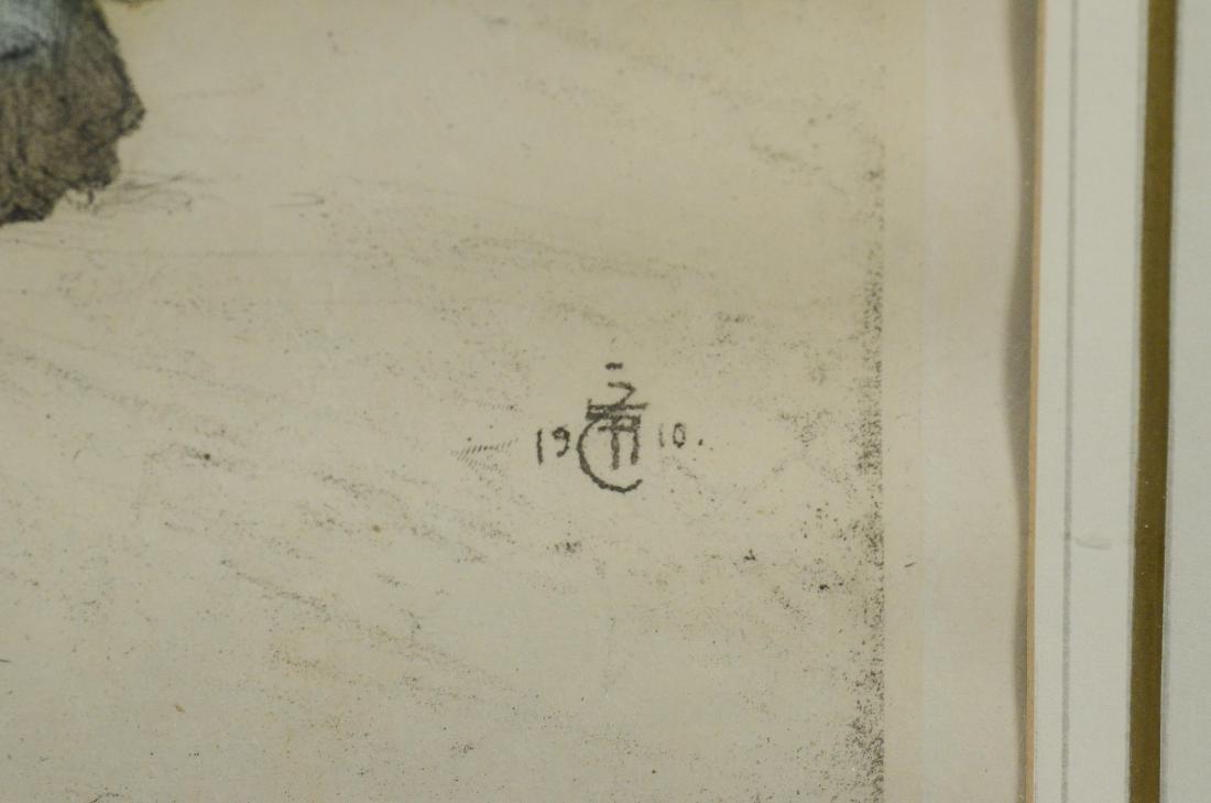 Tavik Fantisek Simon, (4) aquatint etchings - 10