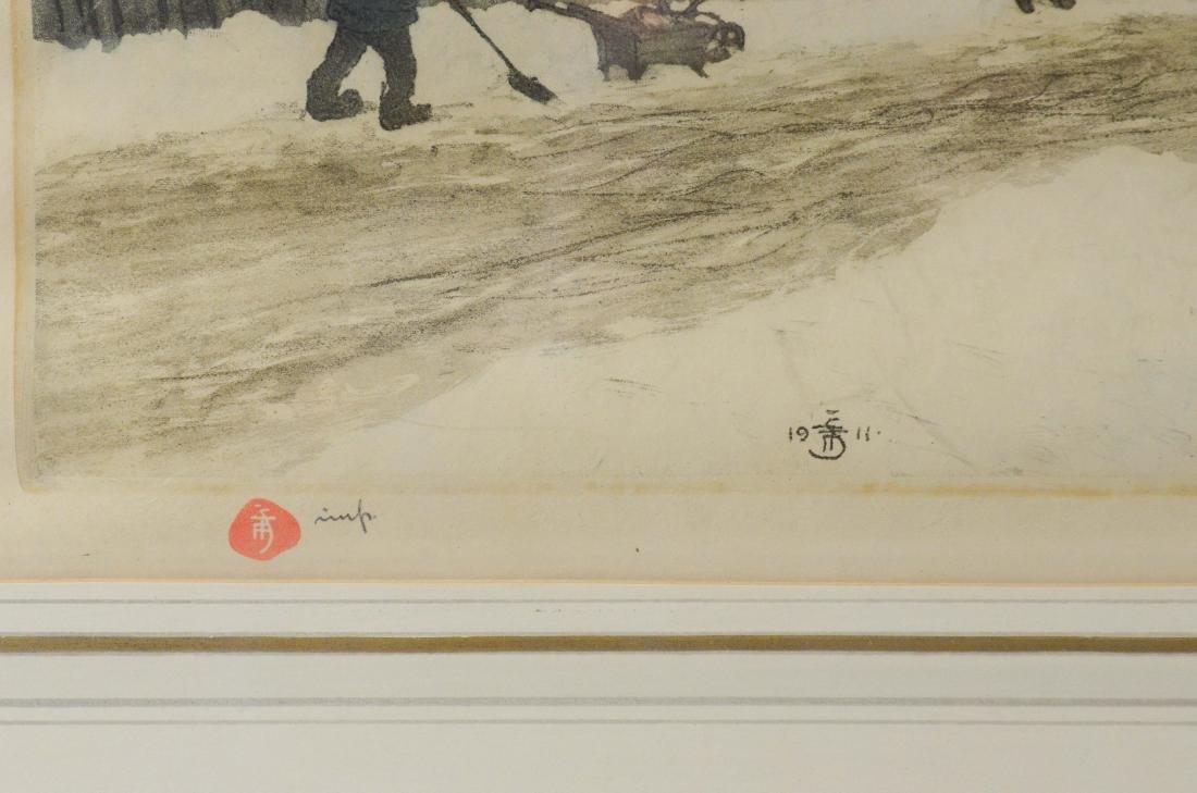 Tavik Fantisek Simon, (4) aquatint etchings - 13