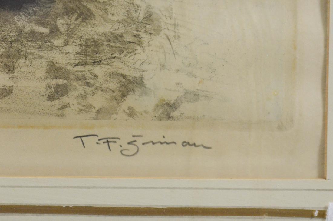 Tavik Fantisek Simon, (4) aquatint etchings - 14
