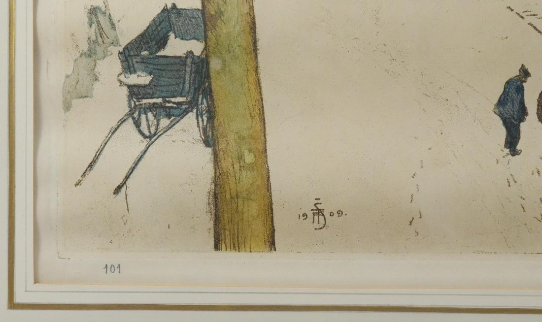 Tavik Fantisek Simon, (4) aquatint etchings - 18