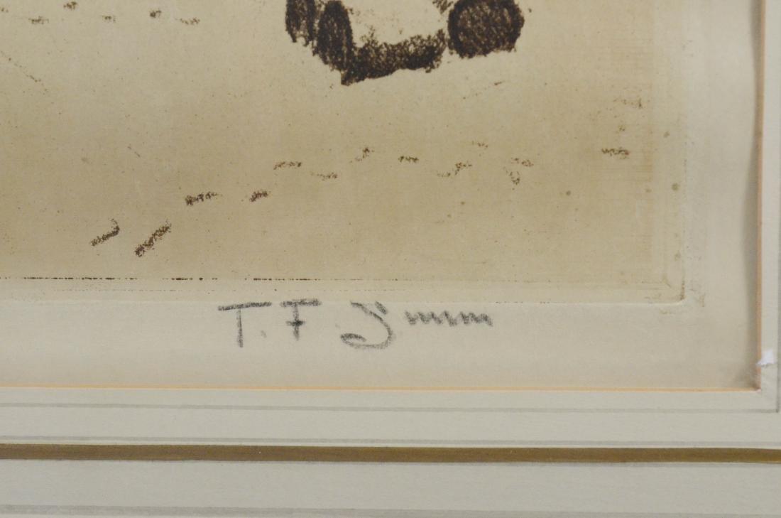 Tavik Fantisek Simon, (4) aquatint etchings - 19