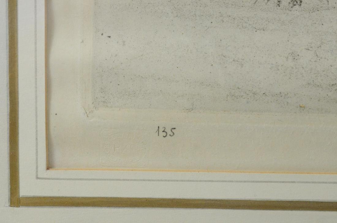 Tavik Fantisek Simon, (4) aquatint etchings - 9