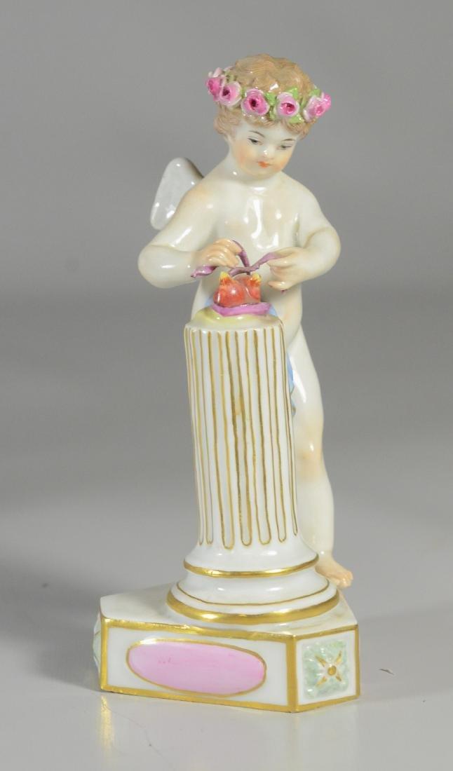 """4 Meissen allegorical figures of the 'Seasons"""" - 4"""