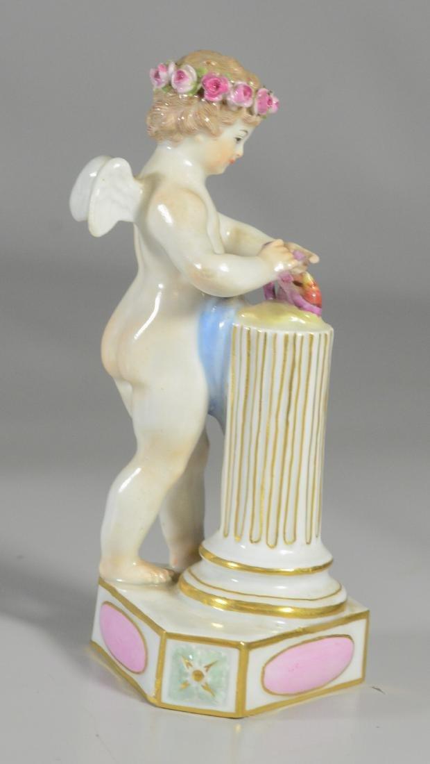 """4 Meissen allegorical figures of the 'Seasons"""" - 5"""