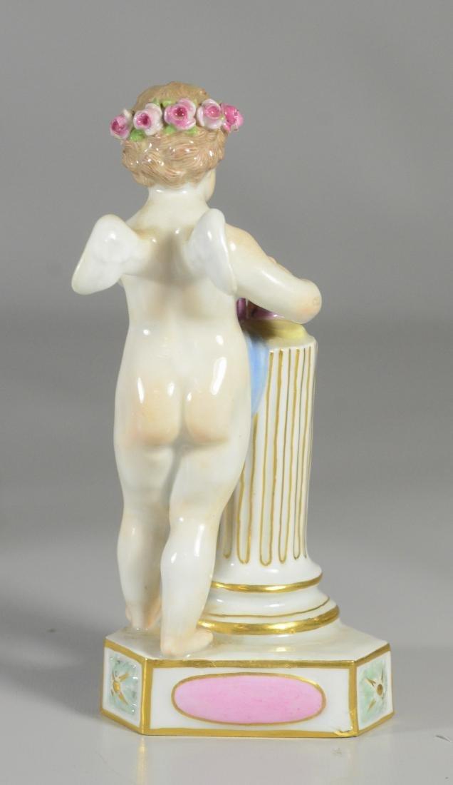 """4 Meissen allegorical figures of the 'Seasons"""" - 6"""