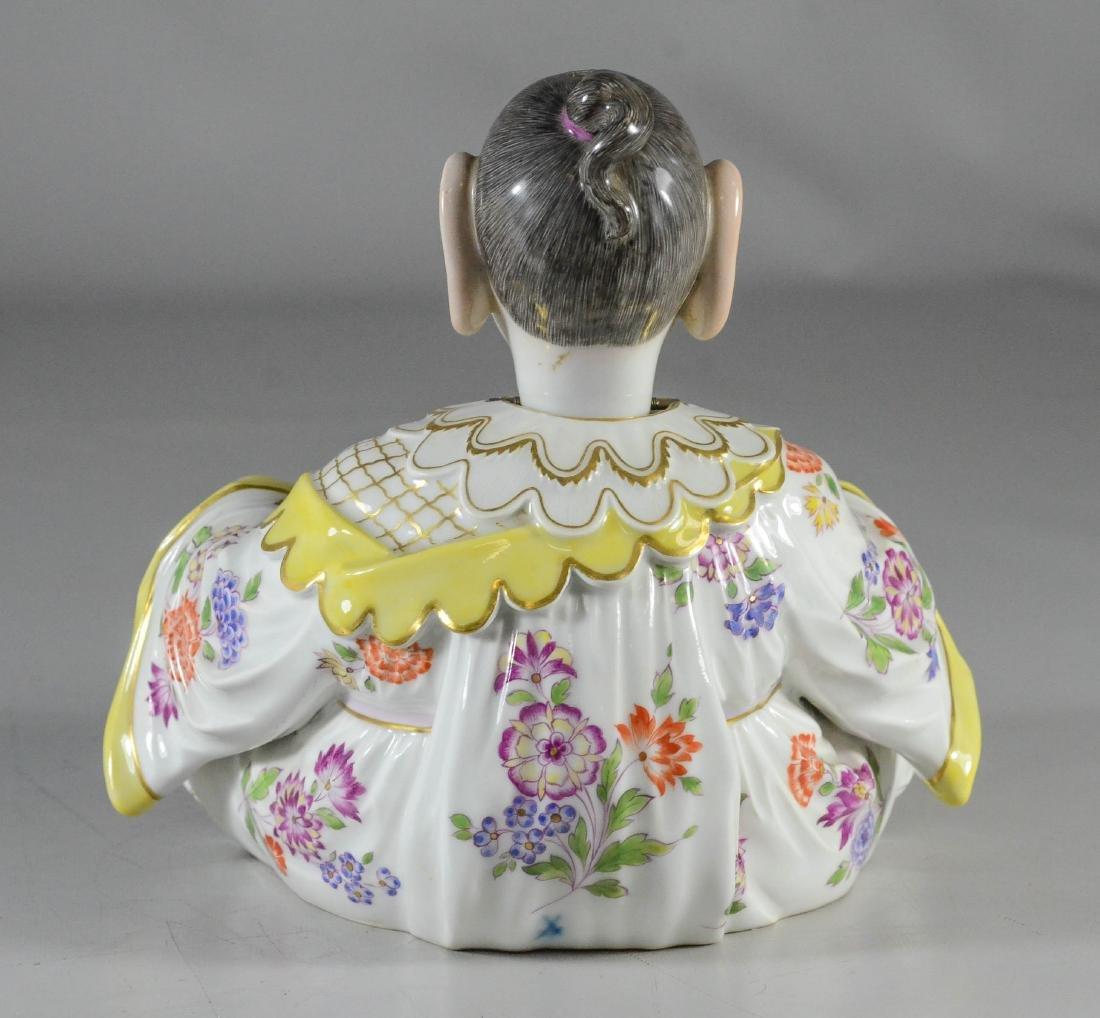 Meissen porcelain figure of a 'Nodding Pagoda' - 3