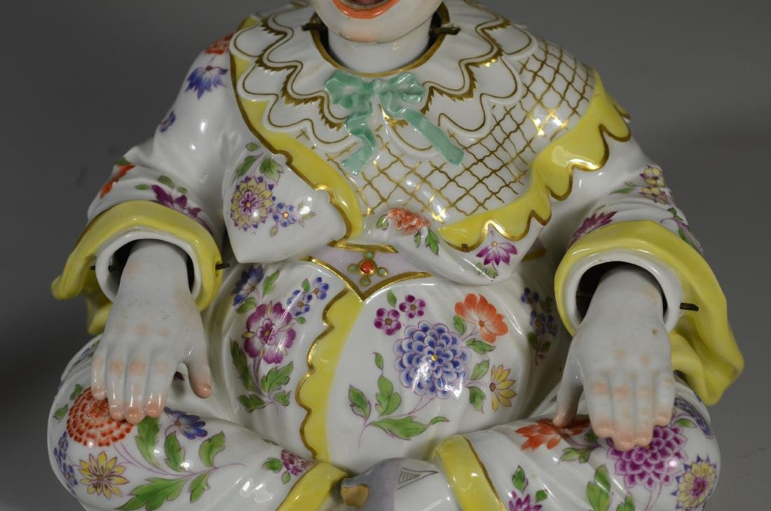 Meissen porcelain figure of a 'Nodding Pagoda' - 5