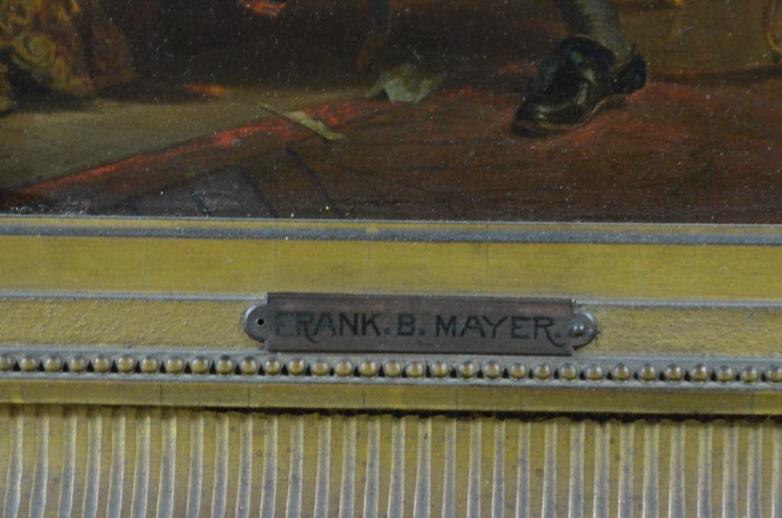 Frank Blackwell Mayer painting of a seated gentleman - 5