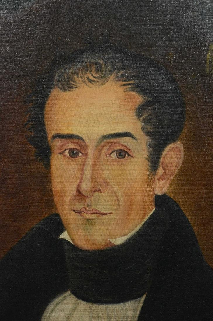 Antique portrait painting of Samuel Alexander Ford - 3