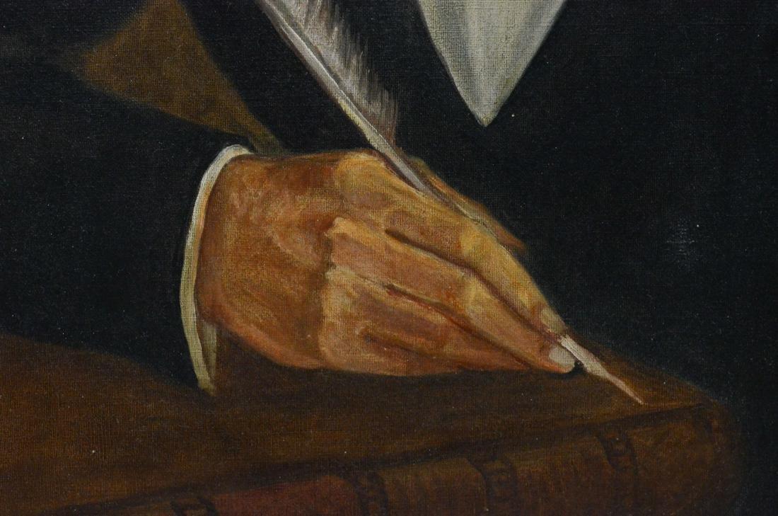 Antique portrait painting of Samuel Alexander Ford - 4