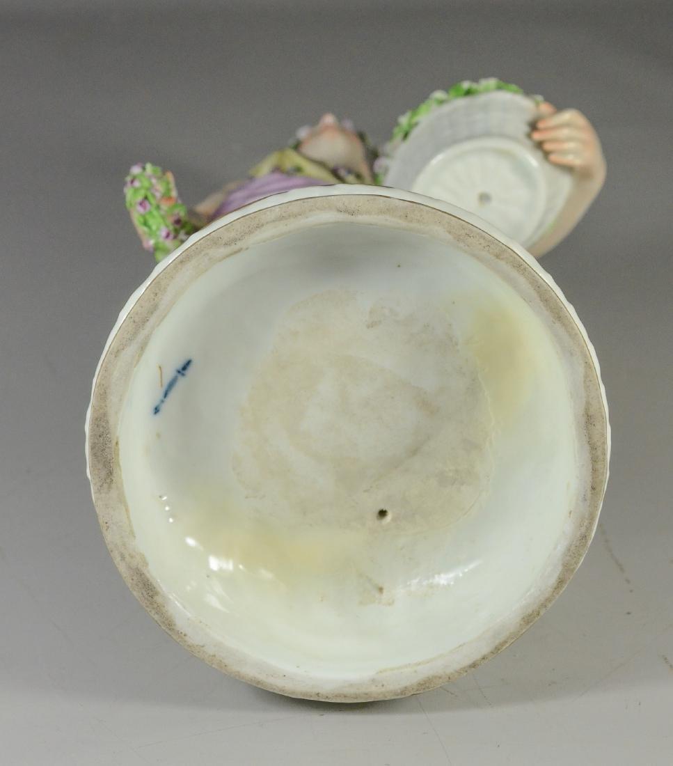 Berlin (KPM) porcelain allegorical figure of 'Spring - 5
