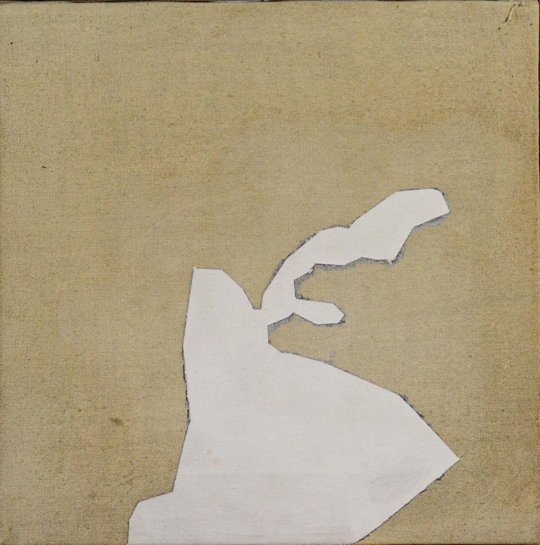 "Robert Arthur Goodnough, abstract ""White Reach"""